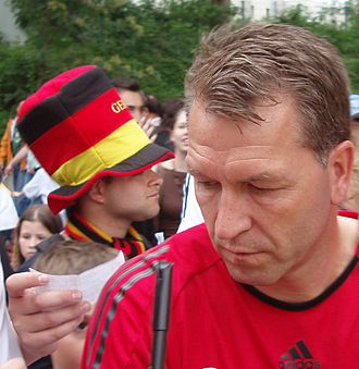 1. FC Nürnberg - Supporters voted Andreas Köpke (pictured) as the club's greatest ever goalkeeper.