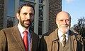 Andreu Vea with Vint Cerf, 2007.jpg