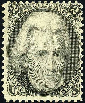 "Black Jack (stamp) - 1863 ""Black Jack"" issue"