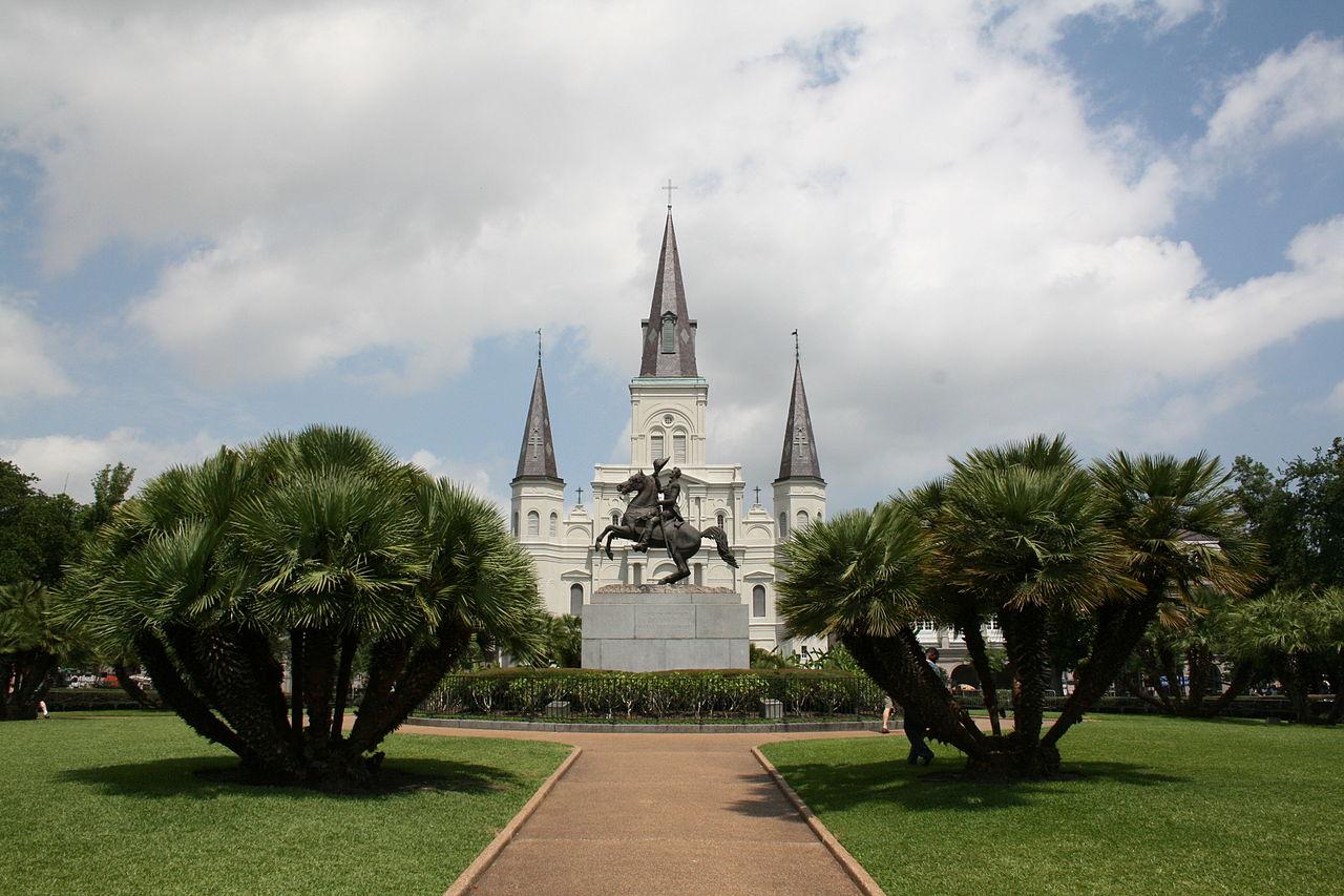 Andrew Jackson monument, New Orleans, USA.jpg