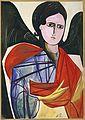 Angel by N.Goncharova (c.1909, Mead Art museum).jpg
