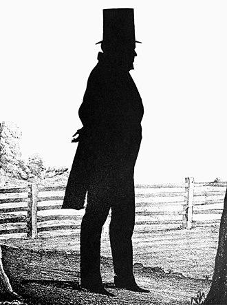 Angus William McDonald - Profile silhouette of McDonald.