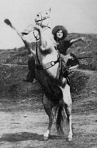 Ann Little - Little as Kate Arnold in Lightning Bryce (1919).