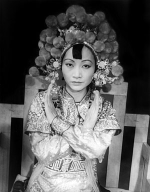 Turandot - Anna May Wong as Princess Turandot, 1937