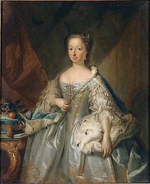 Johann Valentin Tischbein - Anne of Hanover