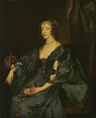 Königin Henriette Maria von England (Kopie nach)