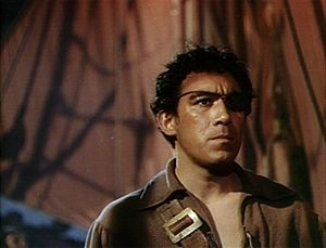 Anthony Quinn filmography - As Wogan in the trailer for The Black Swan (1942 film)
