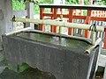 Anti-Coronavirus of purification fountain in Tsurugaoka Hachiman-gū.jpg