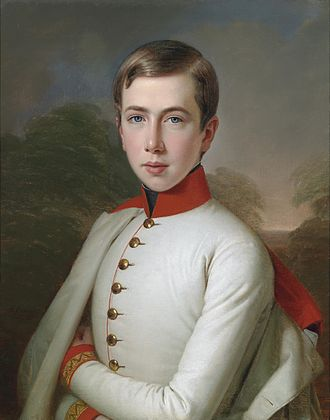 Archduke Karl Ludwig of Austria - An 1848 portrait of Karl Ludwig by Anton Einsle.