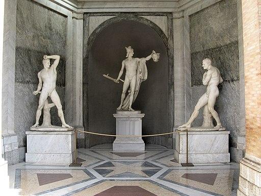 Antonio Canova-Perseus and the head of Medusa-Vatican Museums-2