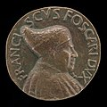 Antonio Gambello, Francesco Foscari, c. 1374-1457, Doge of Venice 1423 (obverse), probably c. 1457, NGA 44558.jpg