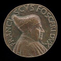 Francesco Foscari, c. 1374-1457, Doge of Venice 1423 [obverse]