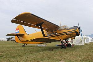 """Antonov An-2 9A-DIZ of """"Air Tractor"""" at Lučko.jpg"""