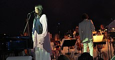 Antony and the Johnsons perform with the Heritage Orchestra in 2012.
