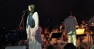 Anohni - Antony and the Johnsons perform with the Heritage Orchestra in 2012.