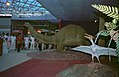 Apatosaurus And Pteranodon - Dinosaurs Alive Exhibition - Science City - Calcutta 1995 June-July 489.JPG