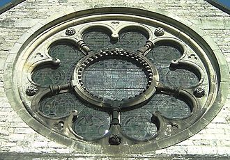 Appleton-le-Moors - The rose window
