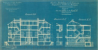 Architectural drawing from the Engetrim archive, ref. obj-0000187