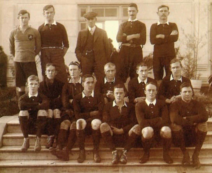 Argentina rugby first 1910