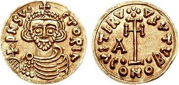 Tremissis of Arichis II.