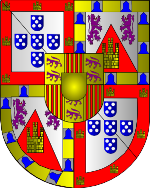 Marquis of Vila Real - The Coat of Arms of the Marquis of Vila Real.