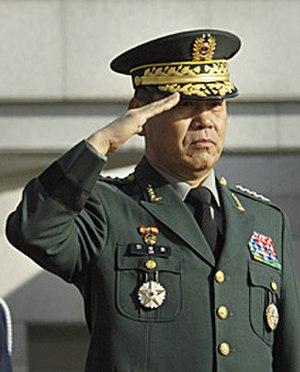 Lee Sang-hee - General Lee Sang-hee as Chairman of the Korean Joint Chiefs of Staff in 2006.