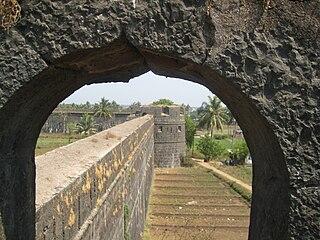Arnala fort building in India