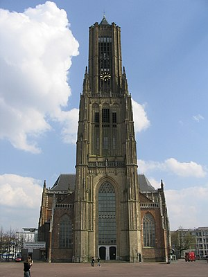 St Eusebius' Church, Arnhem - St. Eusebius church tower