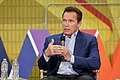 Arnold Schwarzenegger speaks at New Way California Press event in Los Angeles (40066225285).jpg