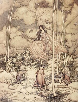 English: Arthur Rackham, untitled, 1904.