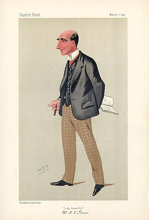 Arthur Wing Pinero - Pinero caricatured in Vanity Fair, 7 March 1891