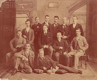 Articled clerk - A group of articling students in 1891 in Ottawa, Ontario, Canada