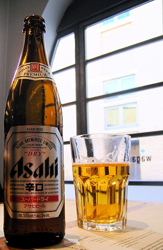 Asahi Breweries - Asahi Super Dry, as retailed in London, UK