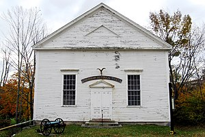 National Register of Historic Places listings in northern Worcester County, Massachusetts - Image: Ashburnham Historical Society Meeting House, Ashburnham, Massachusetts