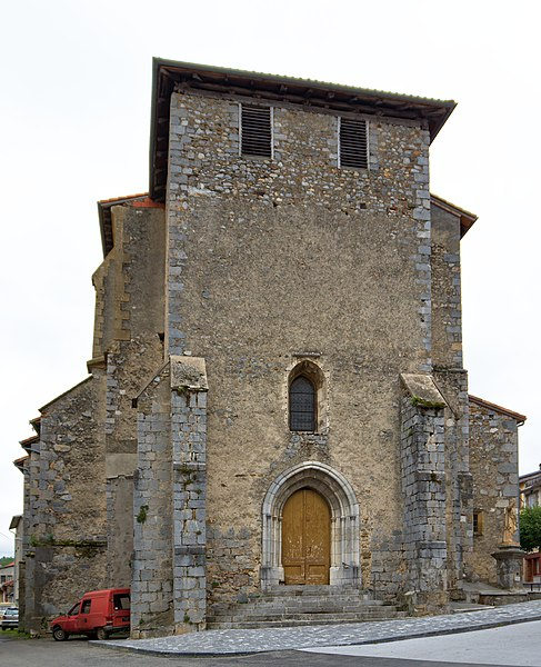 Church of Aspet, Haute-Garonne, France.
