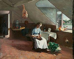 Asta Nørregaard - French Kitchen Interior