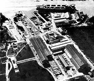 Astarsa - Aerial view of the factory (1967)