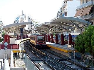 Agios Nikolaos metro station metro station in Athens, Greece