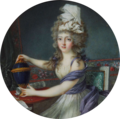 Attributed to Augustin Dubourg - Portrait of a lady.png