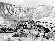 Auckland Mounted Rifles in Jordan Valley