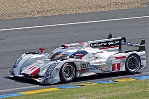 2012 FIA World Endurance Championship - André Lotterer, Benoît Tréluyer and Marcel Fässler won the World Endurance Championship for Drivers