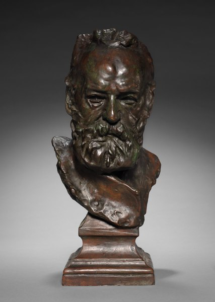 File:Auguste Rodin - Bust of Victor Hugo - 1940.580 - Cleveland Museum of Art.tif