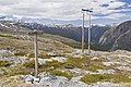 Aurstaupet signpost in Eikesdalen, 2013 June.jpg