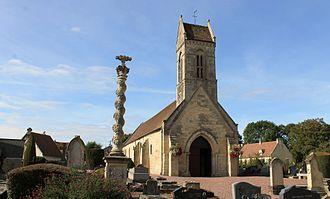 Authie, Calvados - The Church of Saint Vigor
