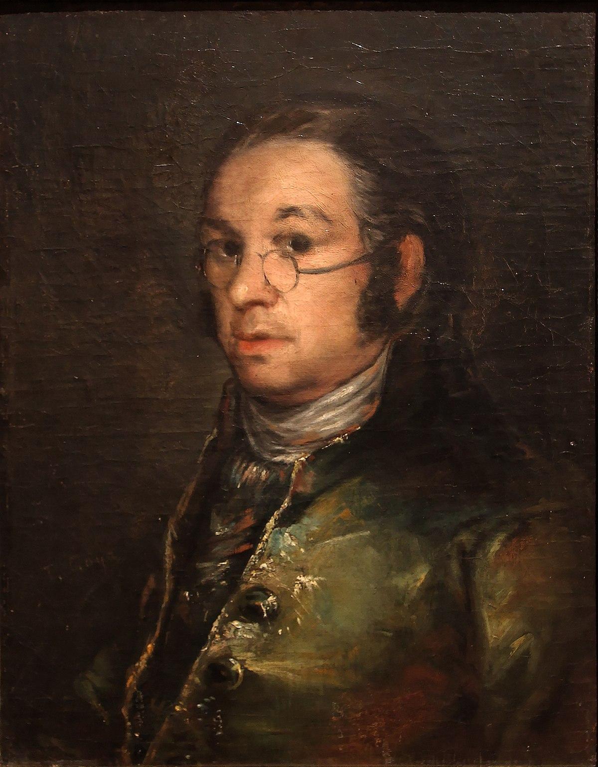 Autoportrait aux lunettes — Wikipédia