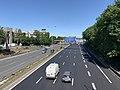 Autoroute A1 vue depuis Route Courneuve St Denis Seine St Denis 1.jpg