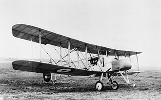Royal Aircraft Factory F.E.2 - F.E.2a with original undercarriage