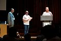 Awards during Wikimania 2014.jpg