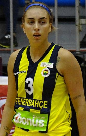 Ayşe Cora - Image: Ayşe Cora Fenerbahçe Women's Basketball vs Orman Gençlik TWBL 20171007