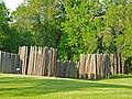 Aztalan State Park stockade.jpg